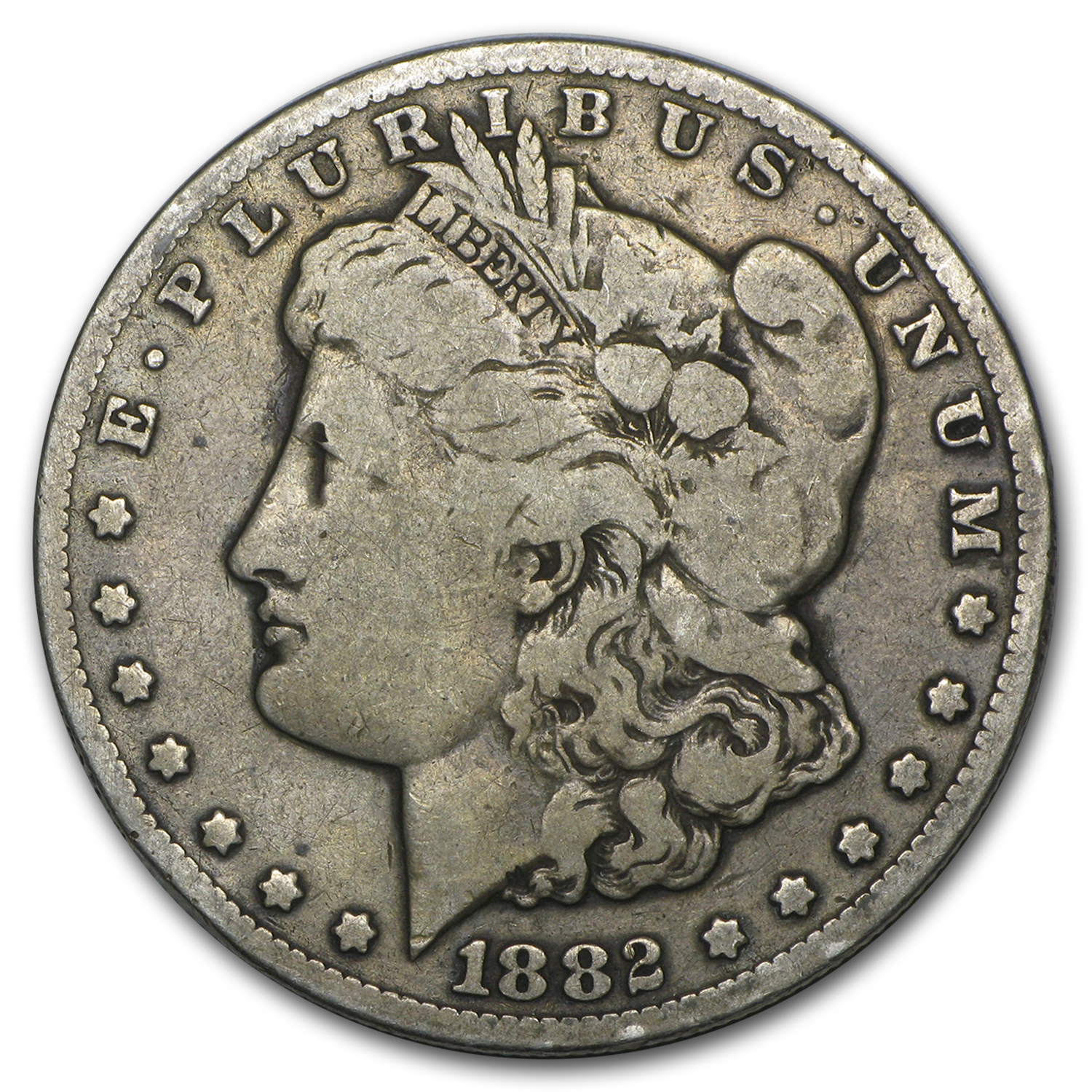 1882 Cc Morgan Dollar Vg Morgan Dollars 1878 1904