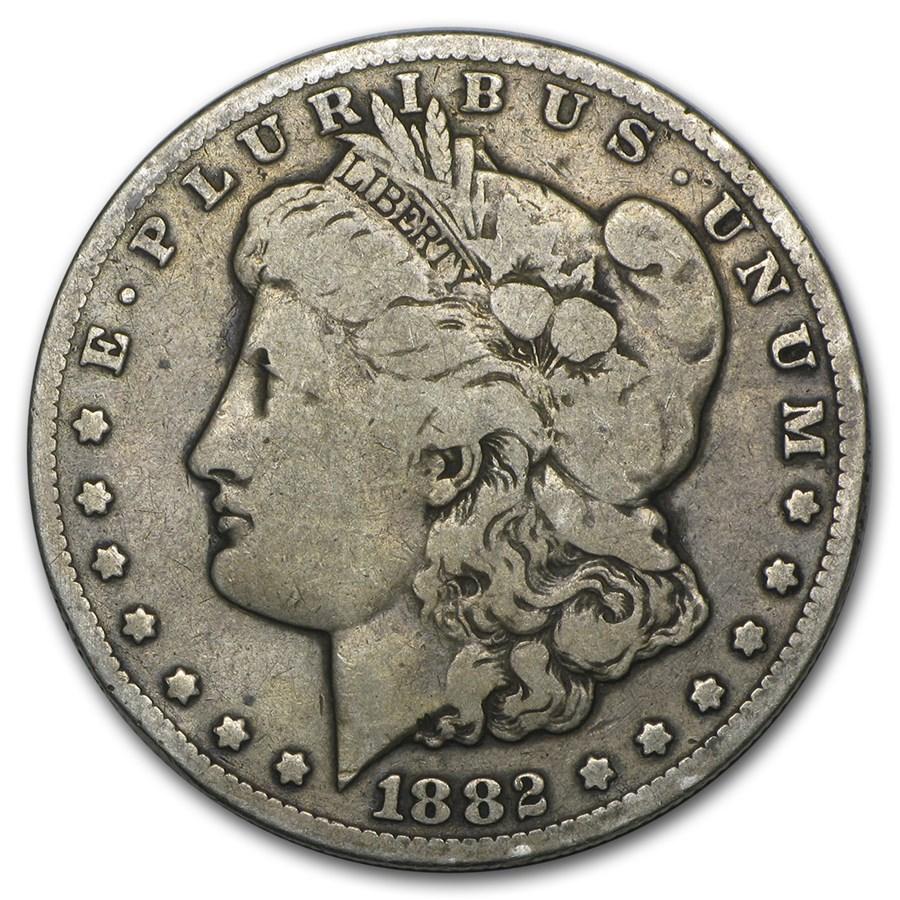 1882 Cc Morgan Dollar Vg Morgan Dollars 1878 1904