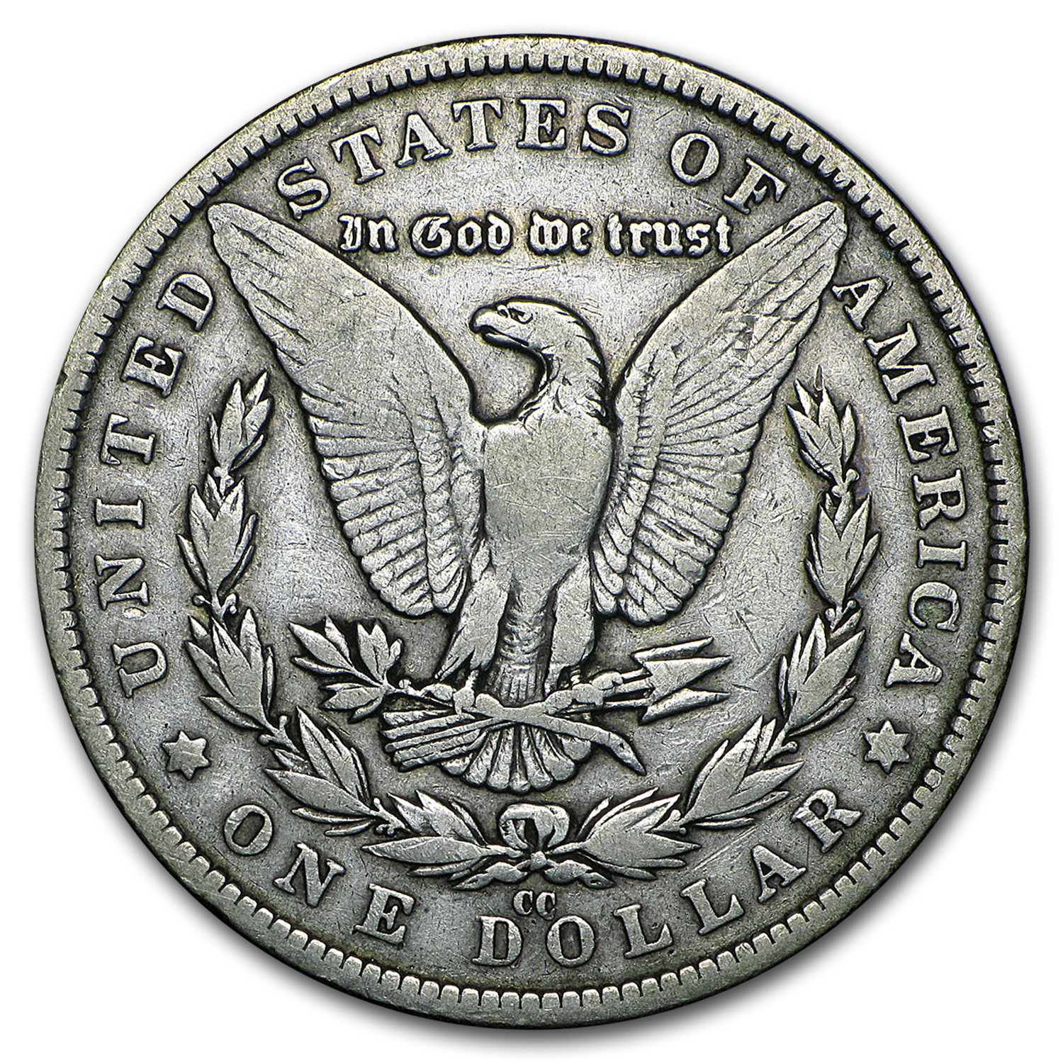 1882-CC Morgan Dollar - Fine