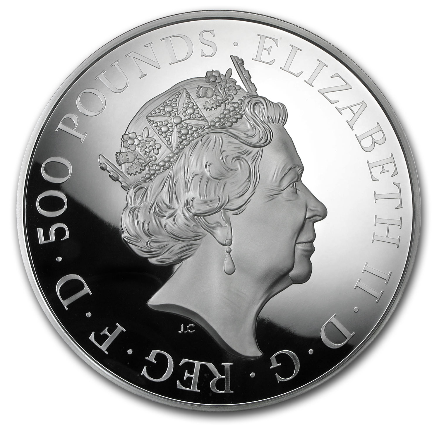 2017 GB Kilo Silver Year of the Rooster Proof (w/Box & COA)