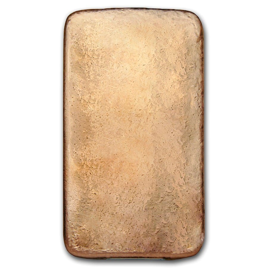 10 oz Copper Bar - Geiger (Poured, .9999 Fine)