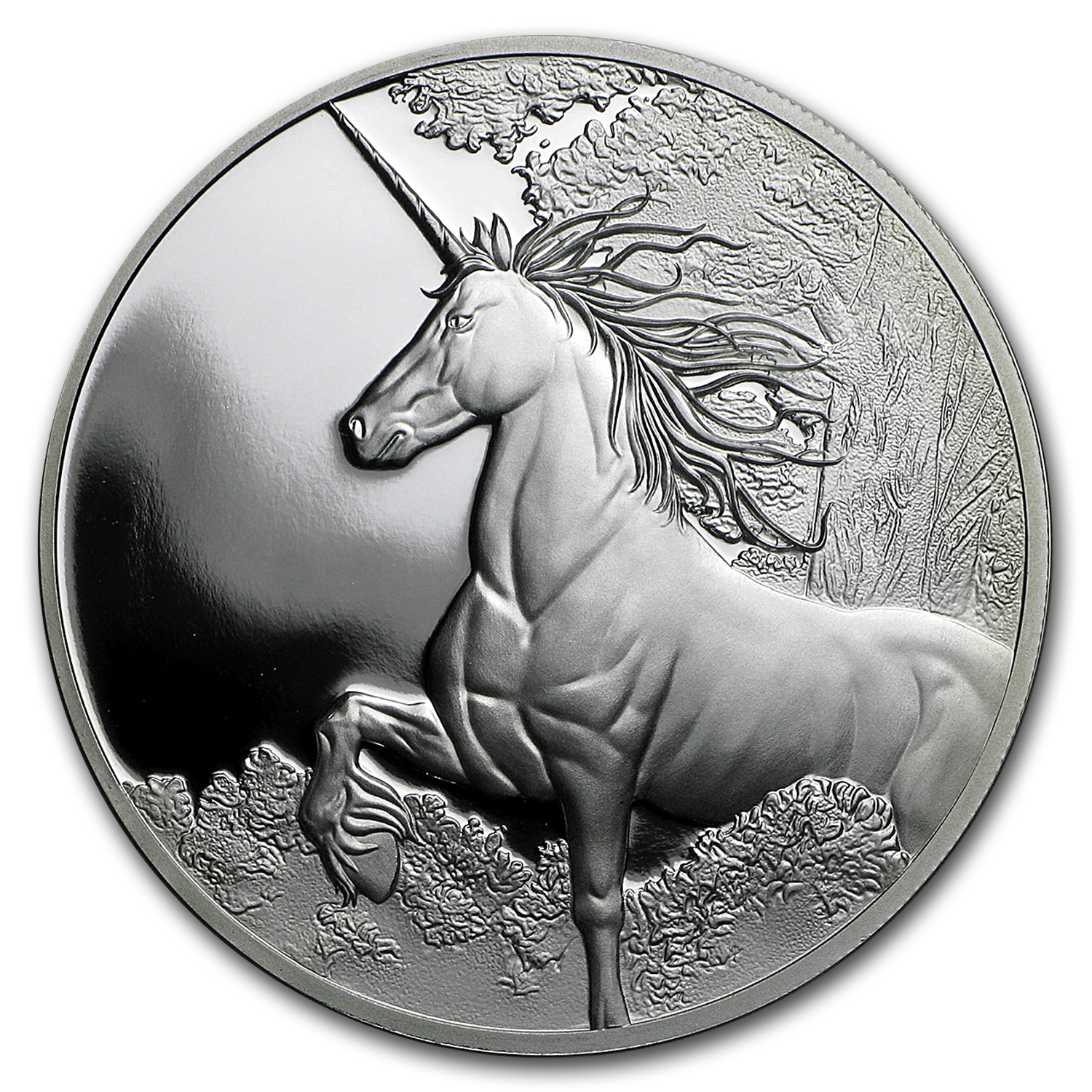 2014 Tokelau 1 oz Silver $5 Unicorn Proof