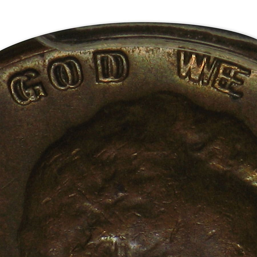 1955 Lincoln Cent Doubled Die Obverse AU-58 PCGS