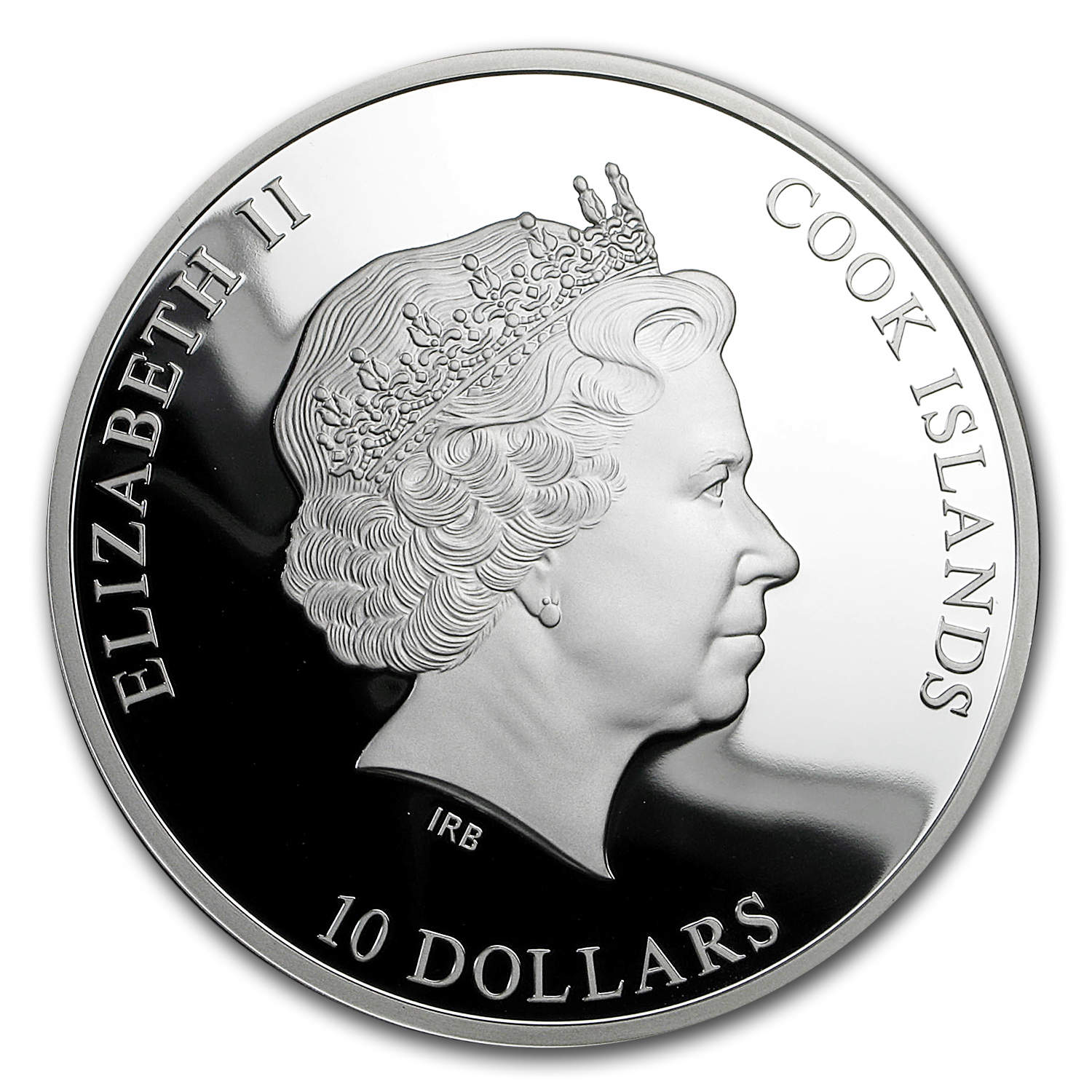 2016 Cook Islands Silver Famous Diamonds (Hope Diamond)