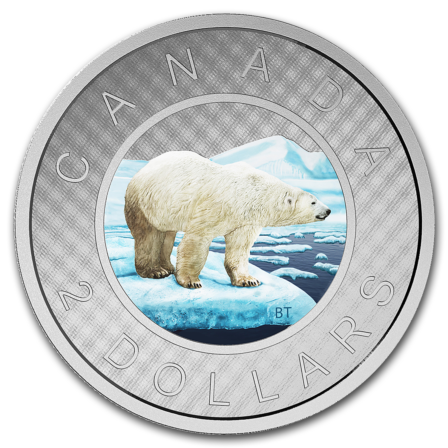 2016 Canada 5 oz Silver $2 Big Coin Series 2 Dollar Coin