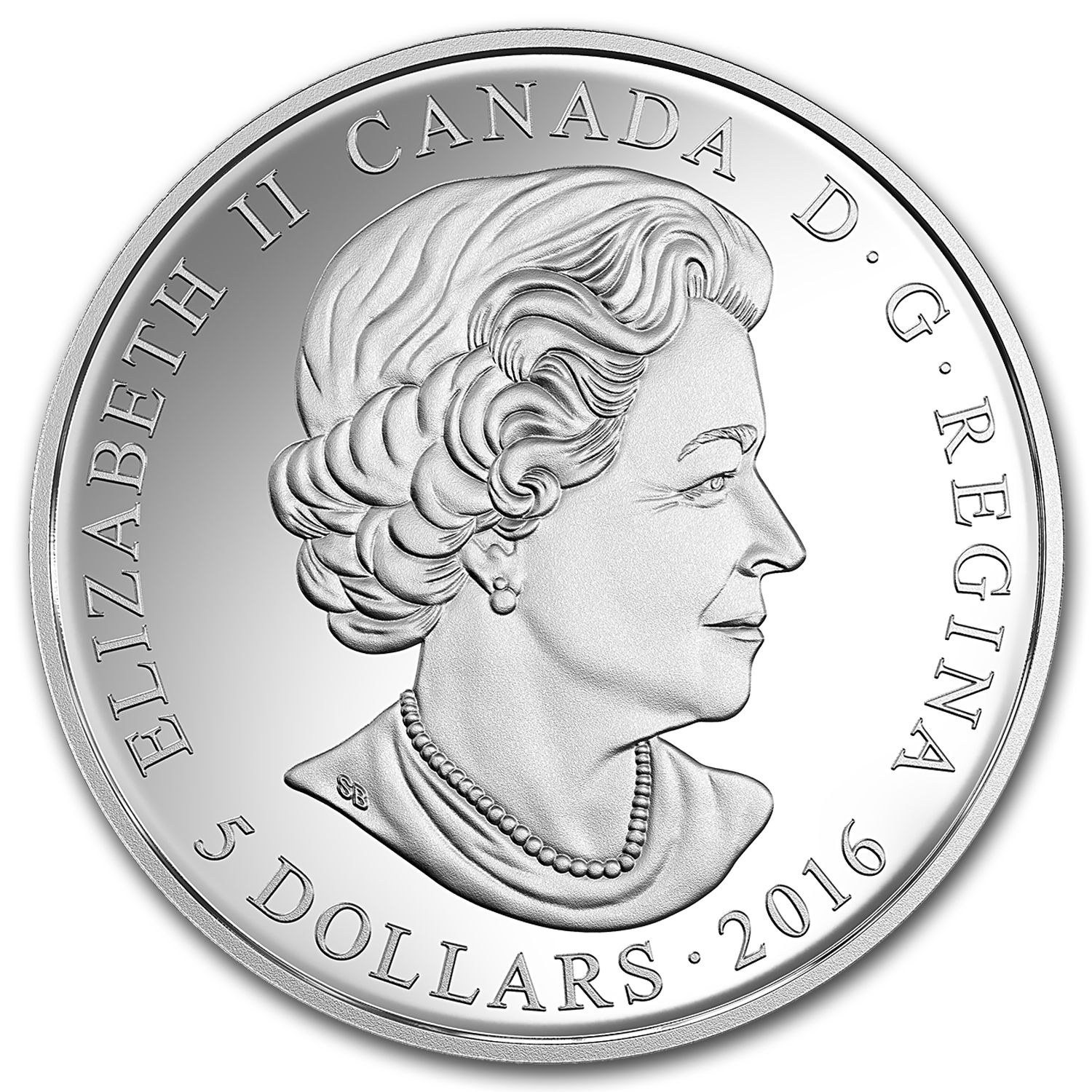 2016 Canada 1/4 oz Silver $5 Birthstones (October)