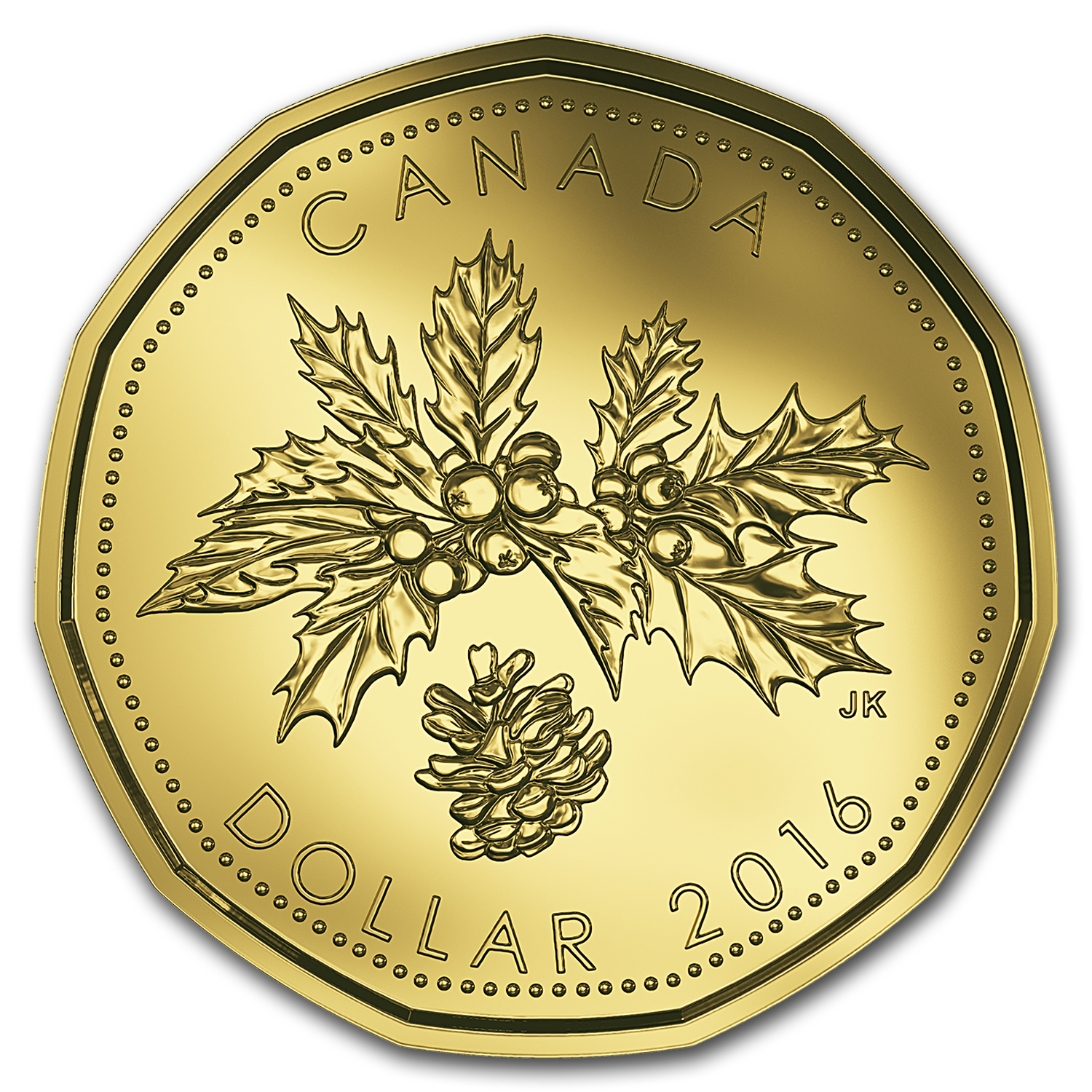 2016 Canada 5-Coin Mint Holiday Gift Set