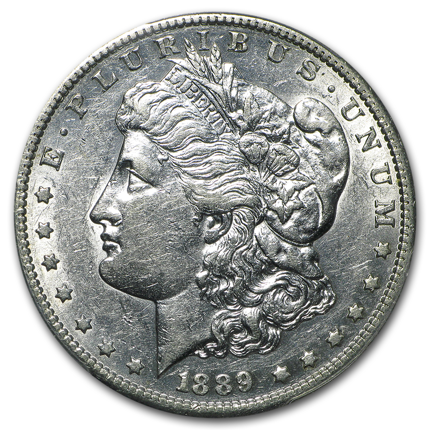 1889-S Morgan Dollar AU