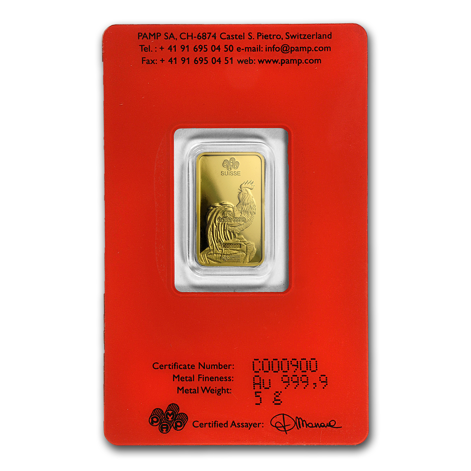 1 Oz Silver Bar Pamp Suisse Year Of The Monkey