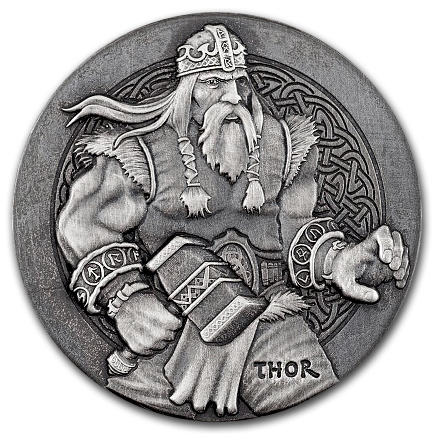 2016 2 oz Silver Coin Viking Series (Thor)