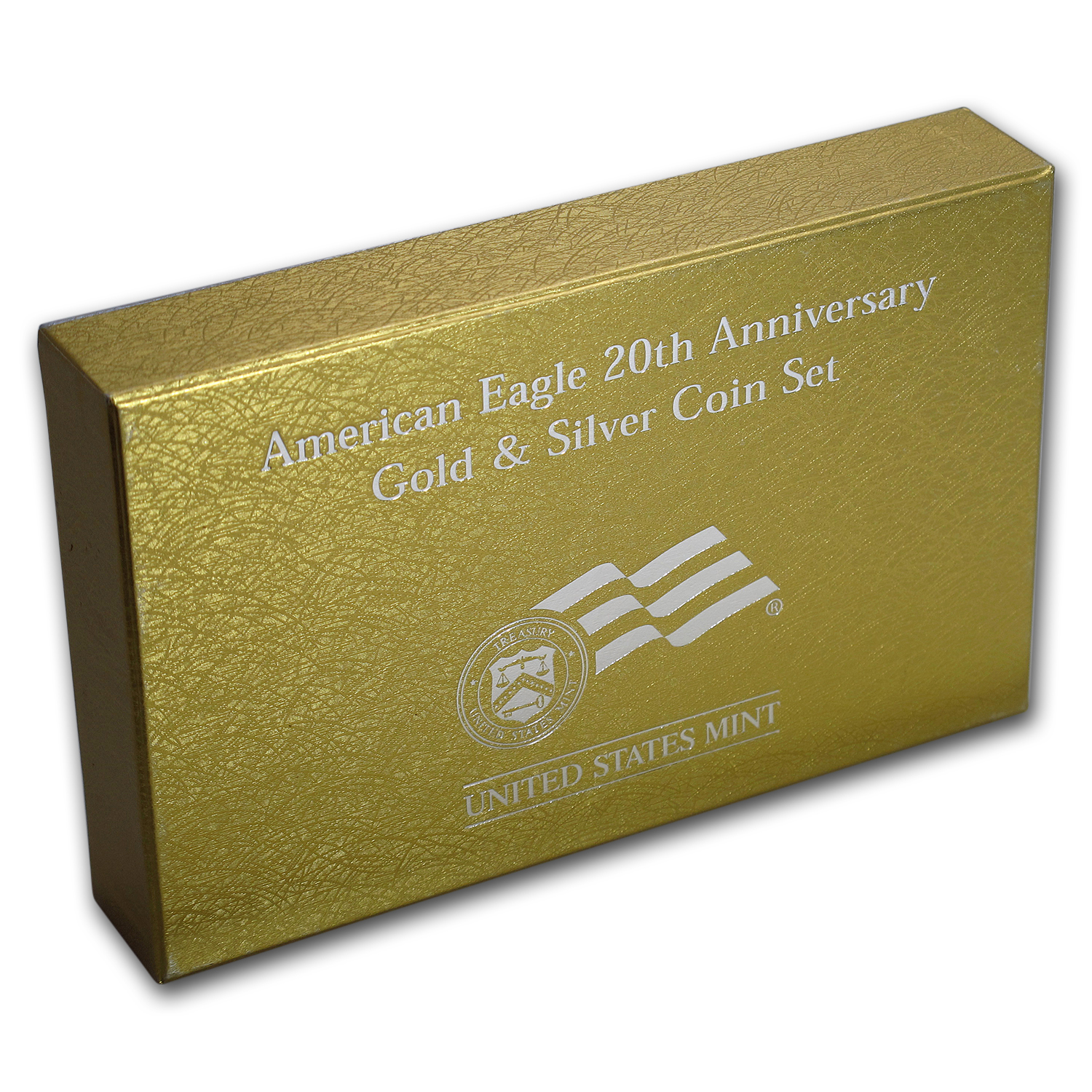 OGP Box & COA - 2006 20th Anniversary 2-Coin American Eagle Set