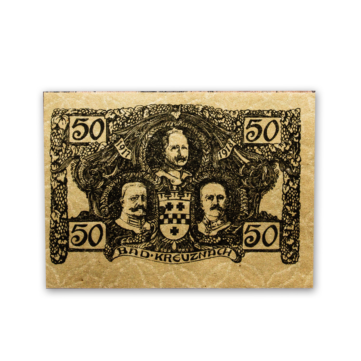 The Shot Heard Round the World - 6 Banknote Collection