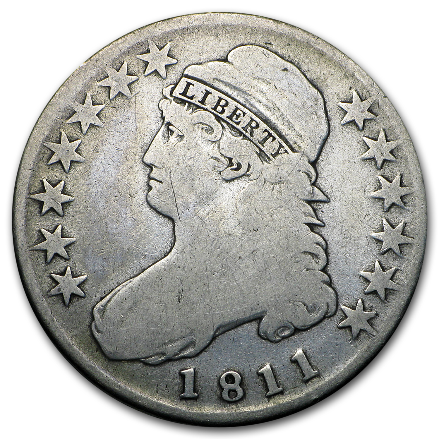 1811 Capped Bust Half Dollar Good