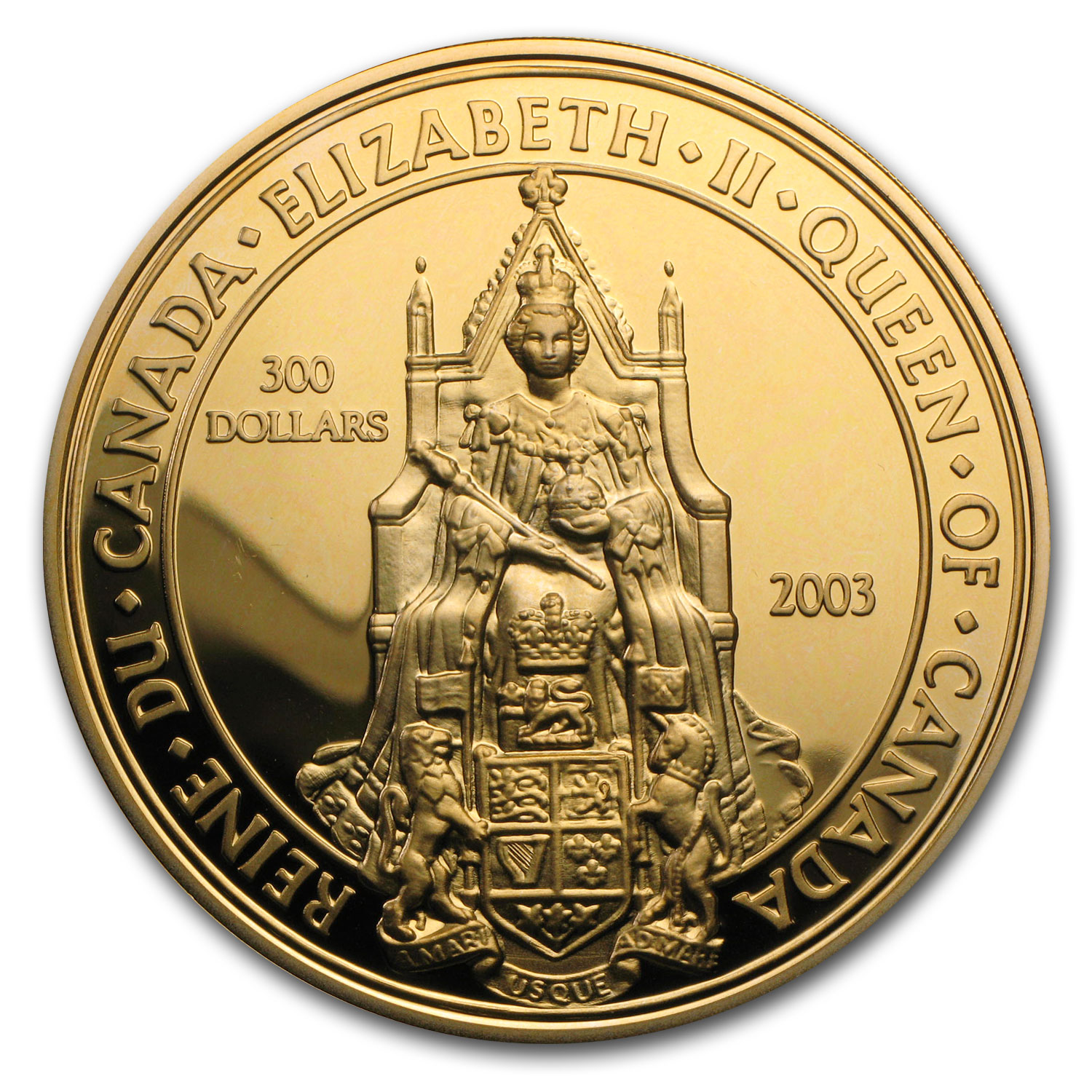 2003 Canada Proof Gold $300 Great Seal of Canada