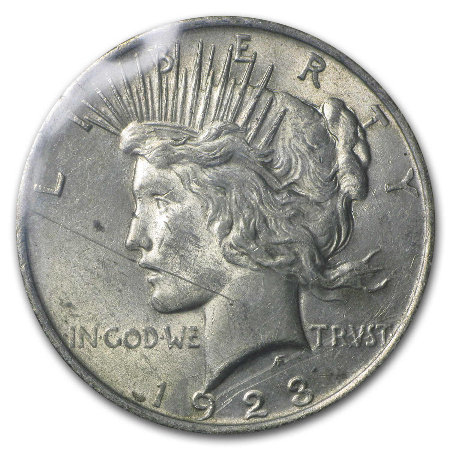 1923 Peace Dollar BU (GSA Soft Pack)
