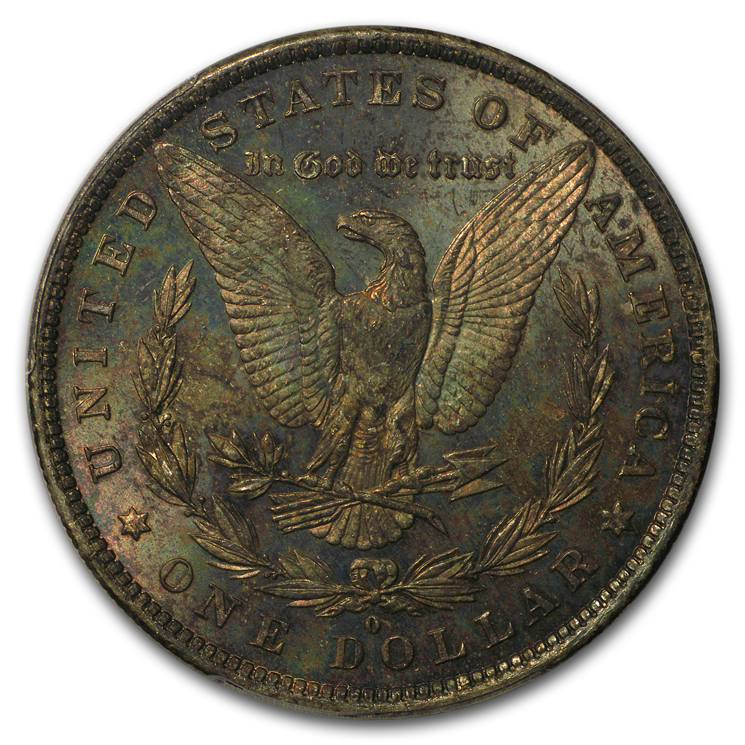 1881-O Morgan Dollar MS-62 PCGS (Toned Reverse)