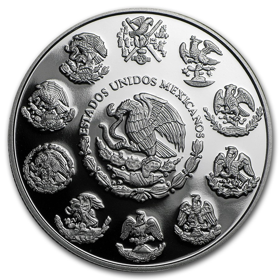 2016 Mexico 2-Coin Silver Libertad Proof/Reverse Proof Set #6