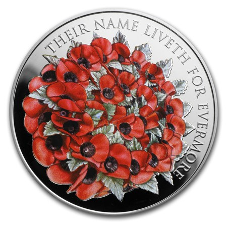 2016 Great Britain 163 5 Silver Remembrance Day Proof