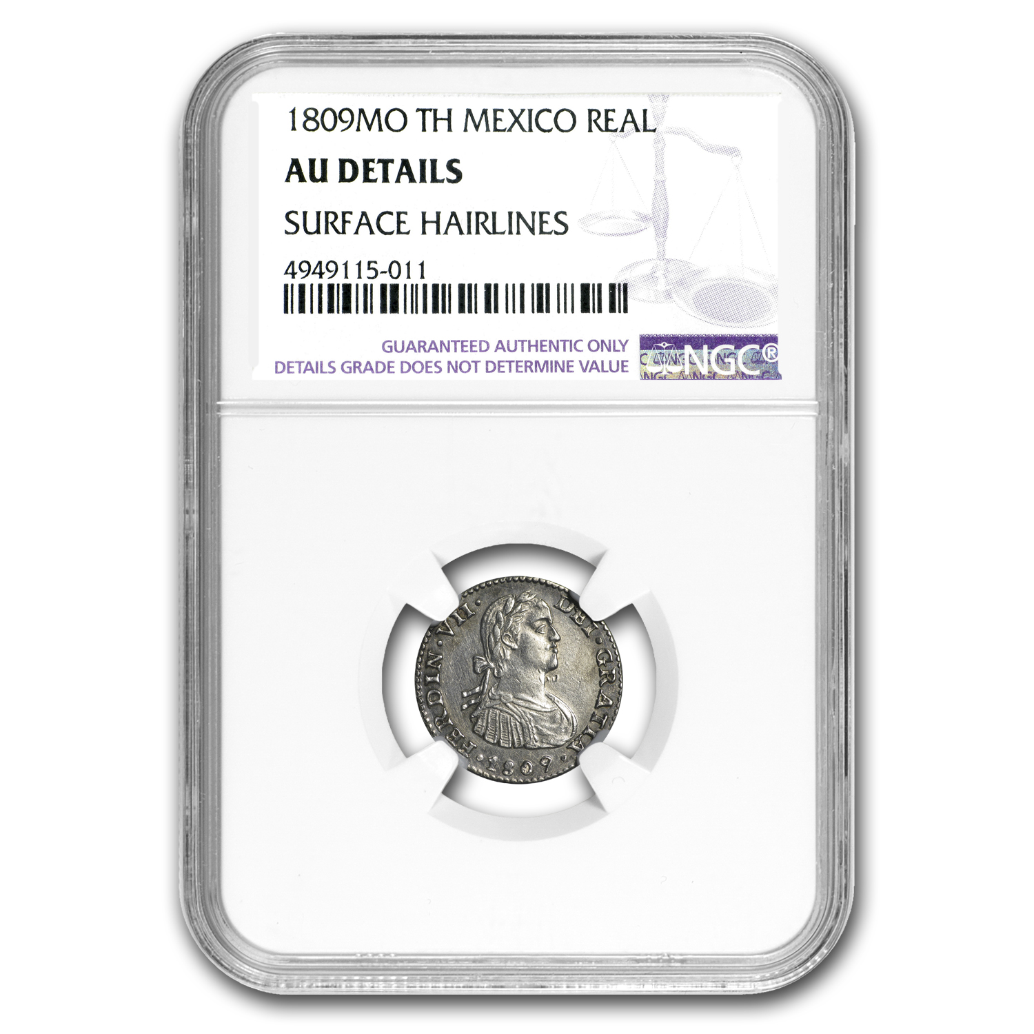 1809 Mo-TH Mexico 1 Real AU Details NGC