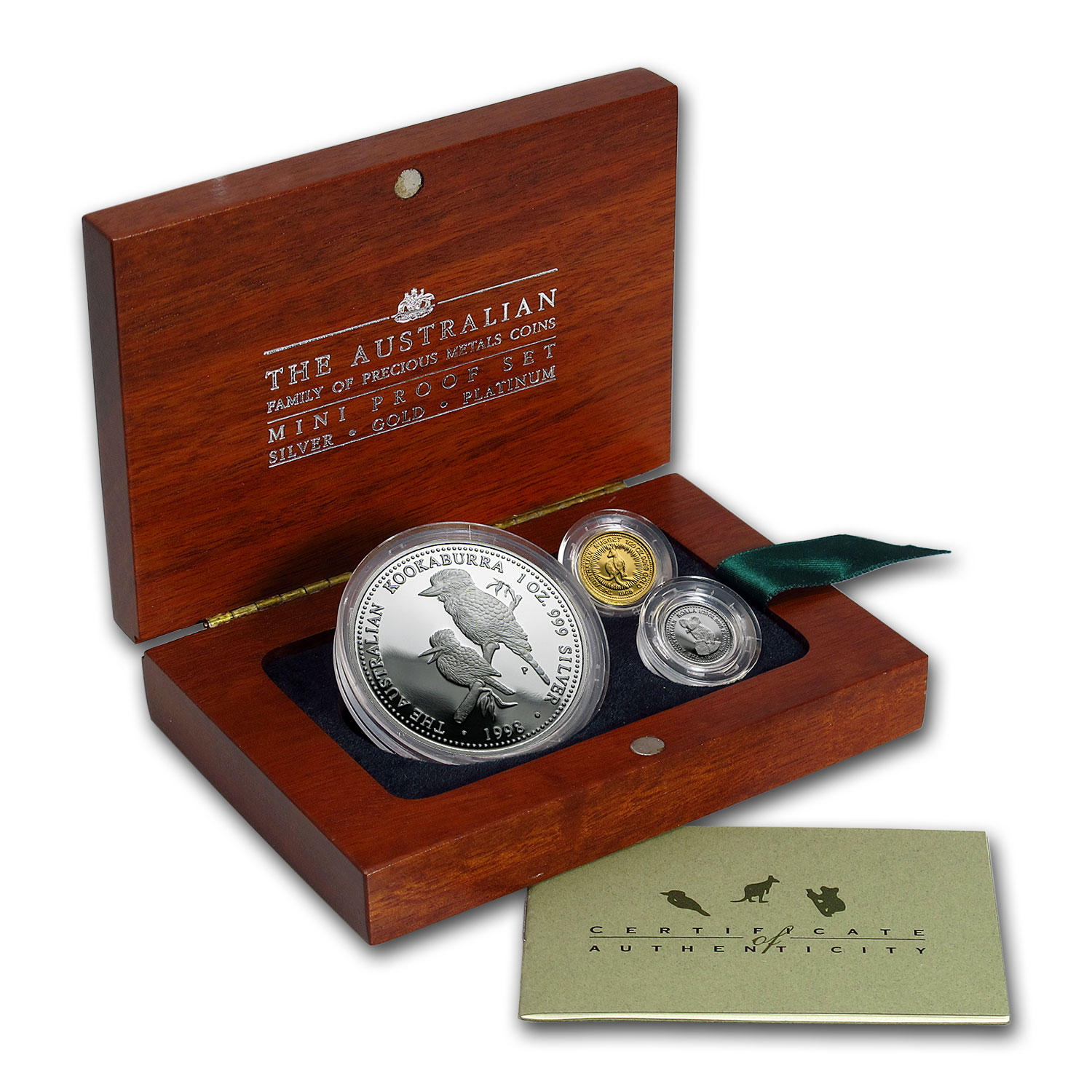 1998 Australia 3-Coin Proof Mini Outback Collection