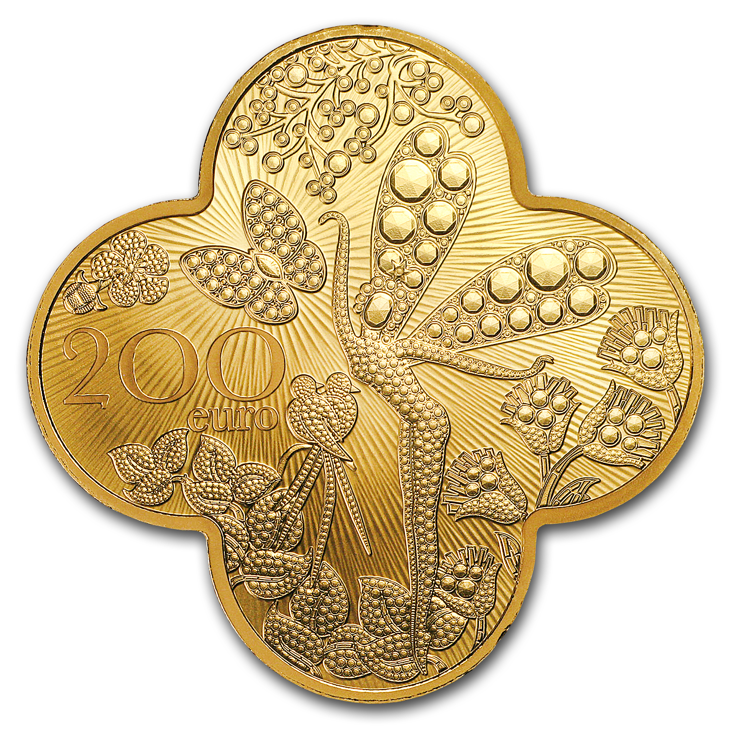 2016 1 oz Proof Gold €200 Excellence Series (Van Cleef & Arpels)