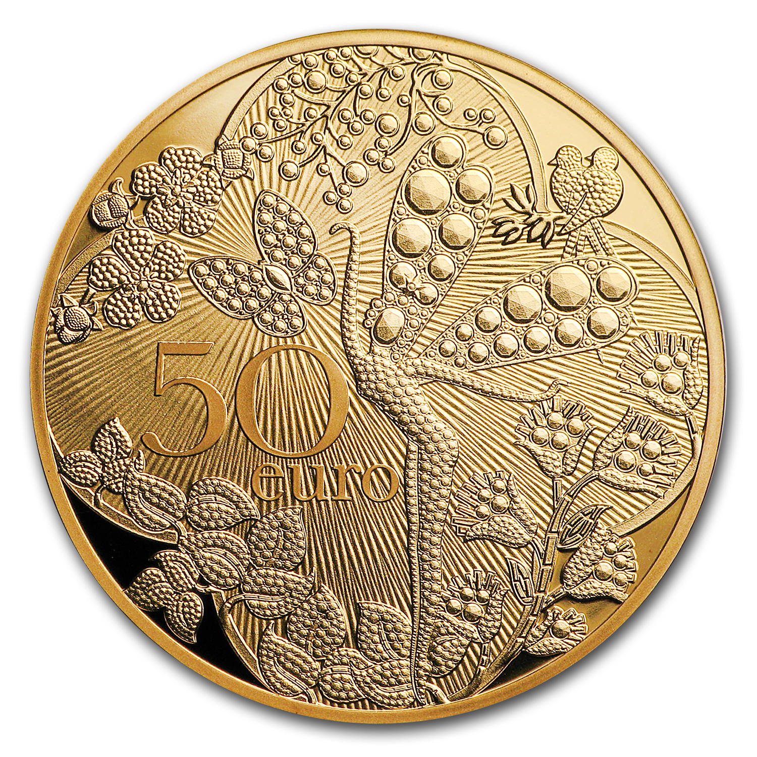 2016 1/4 oz Prf Gold €50 Excellence Series (Van Cleef & Arpels)