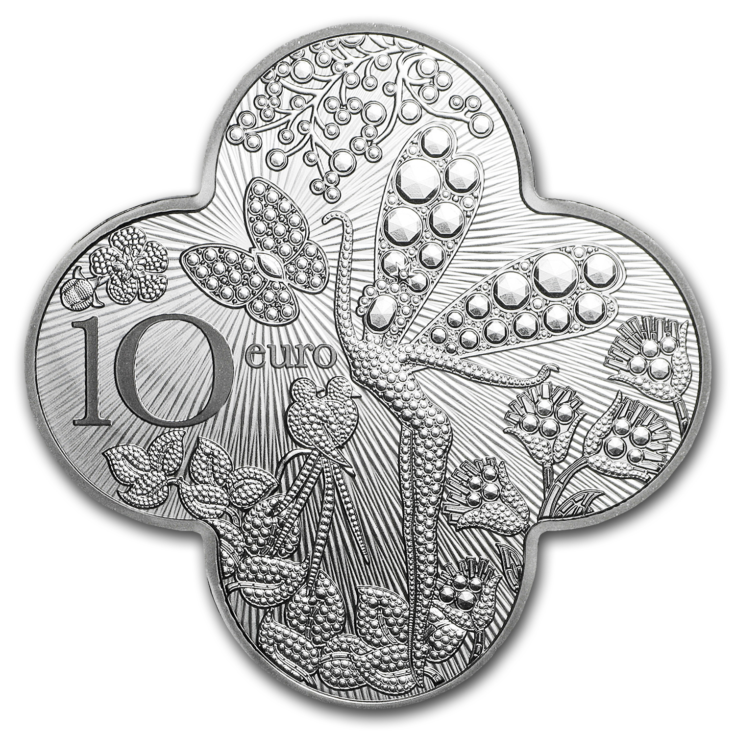 2016 France €10 Silver Excellence Series Prf (Van Cleef & Arpels)