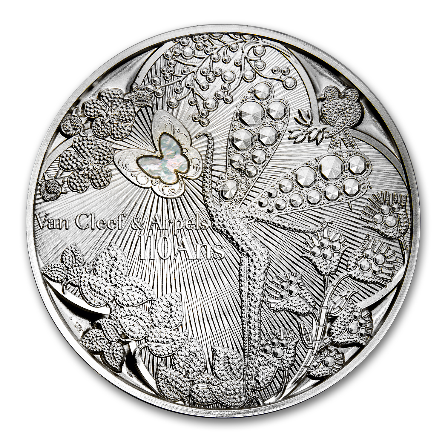 2016 Silver French Excellence Series Medal (Van Cleef & Arpels)