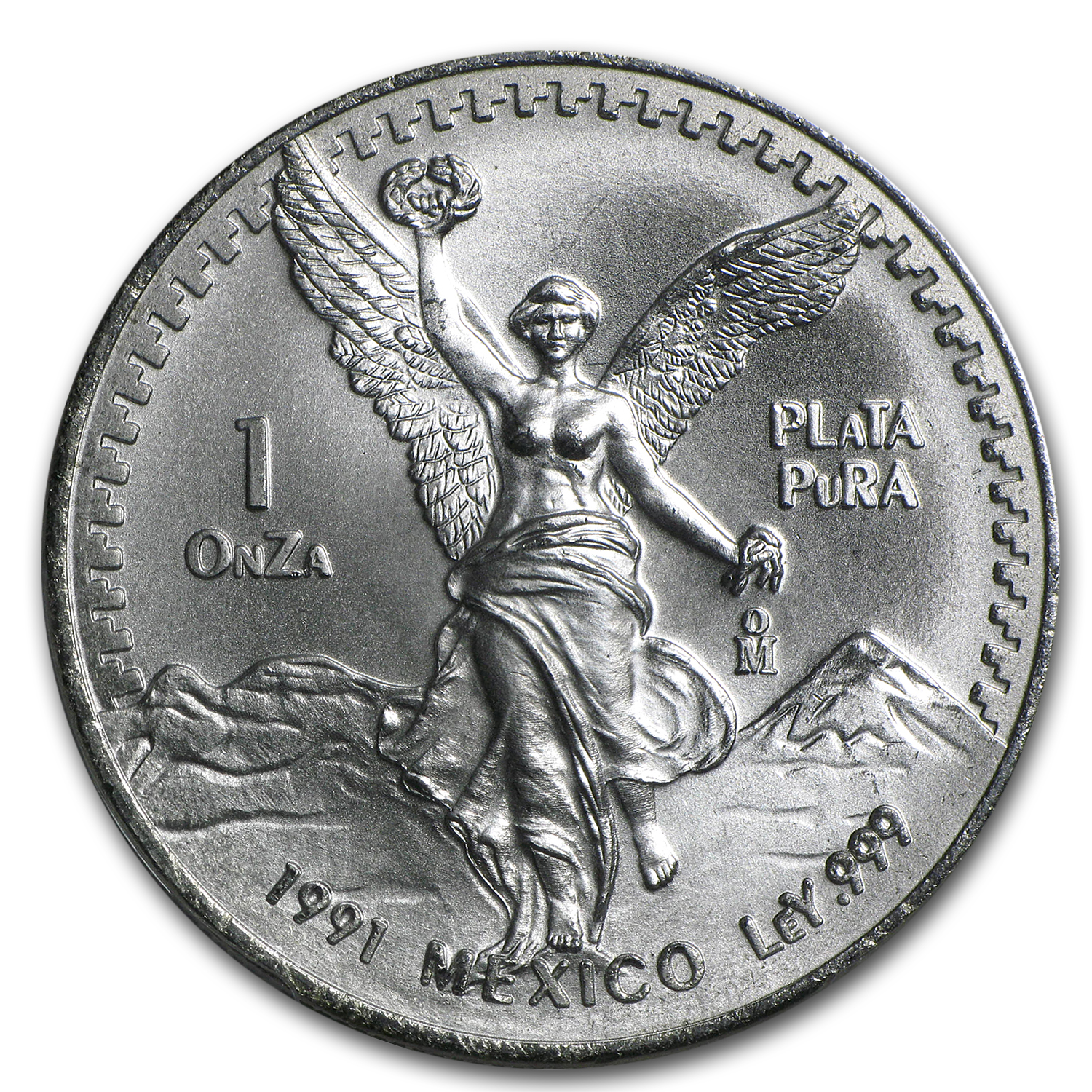 1991 Mexico 1 oz Silver Libertad Type 2 MS-68 PCGS