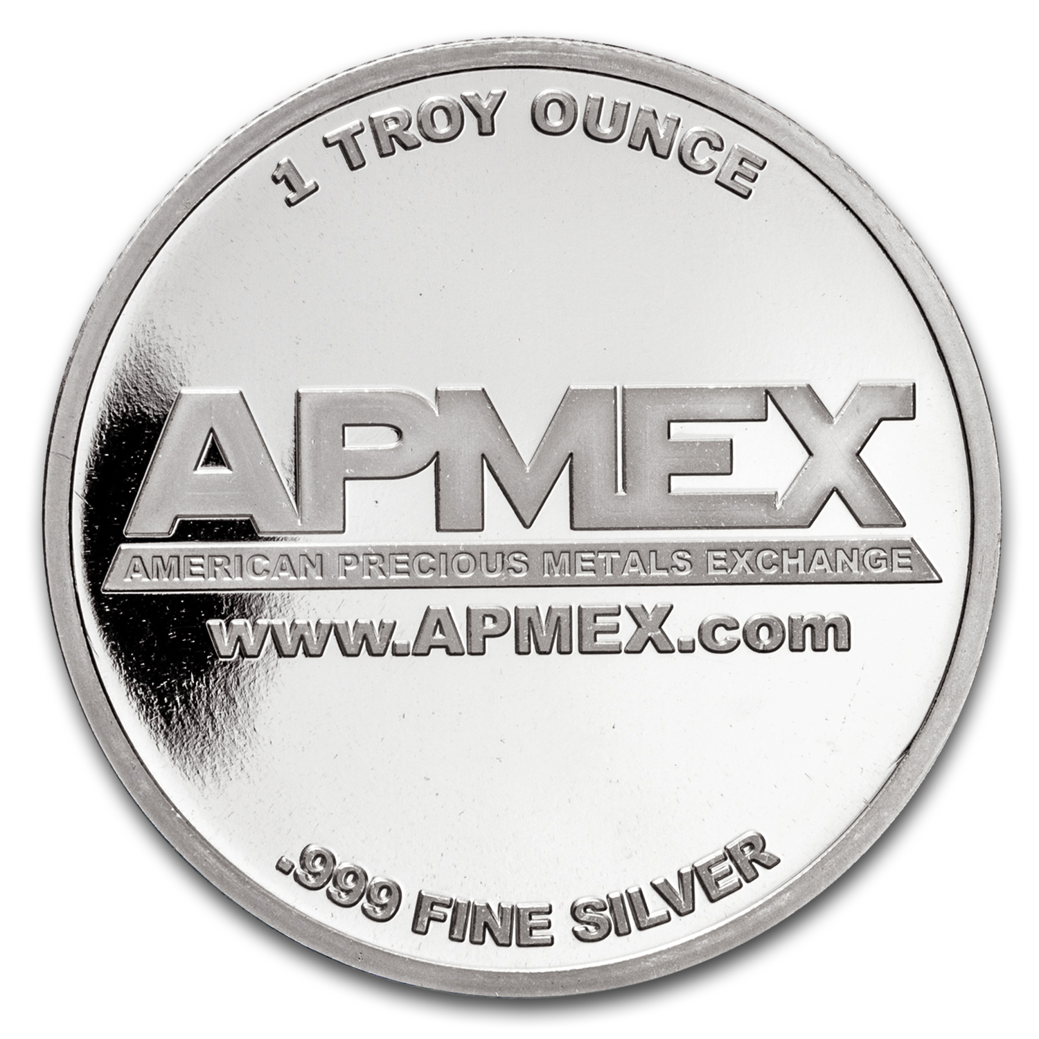 1 oz Silver Colorized Round - APMEX (Peace on Earth)