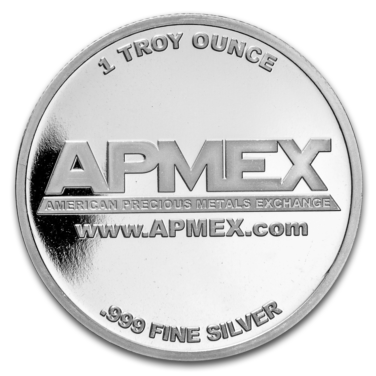 1 oz Silver Colorized Round - APMEX (Rosy Red Merry Christmas)