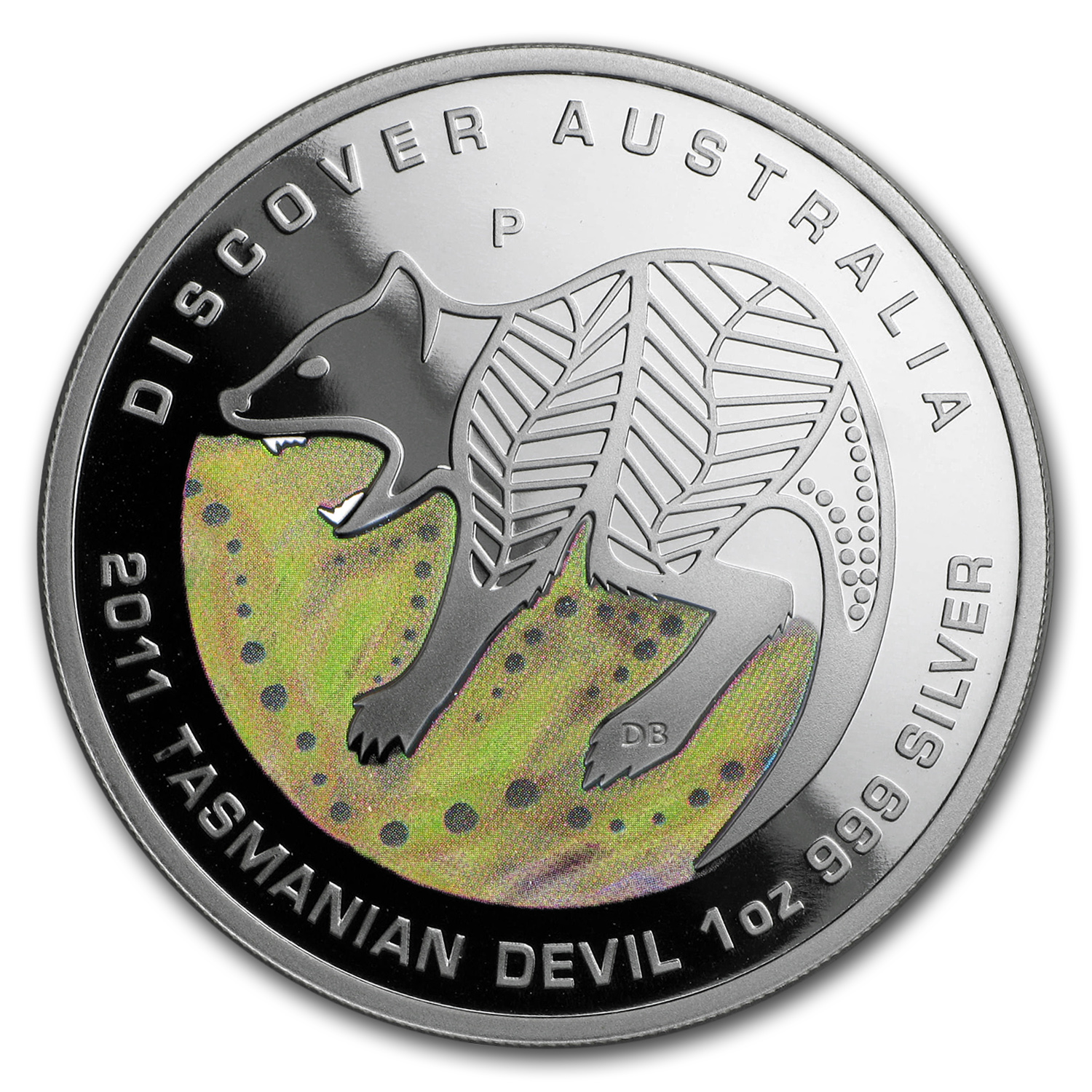 2011 Australia 1 oz Silver Tasmanian Devil Proof