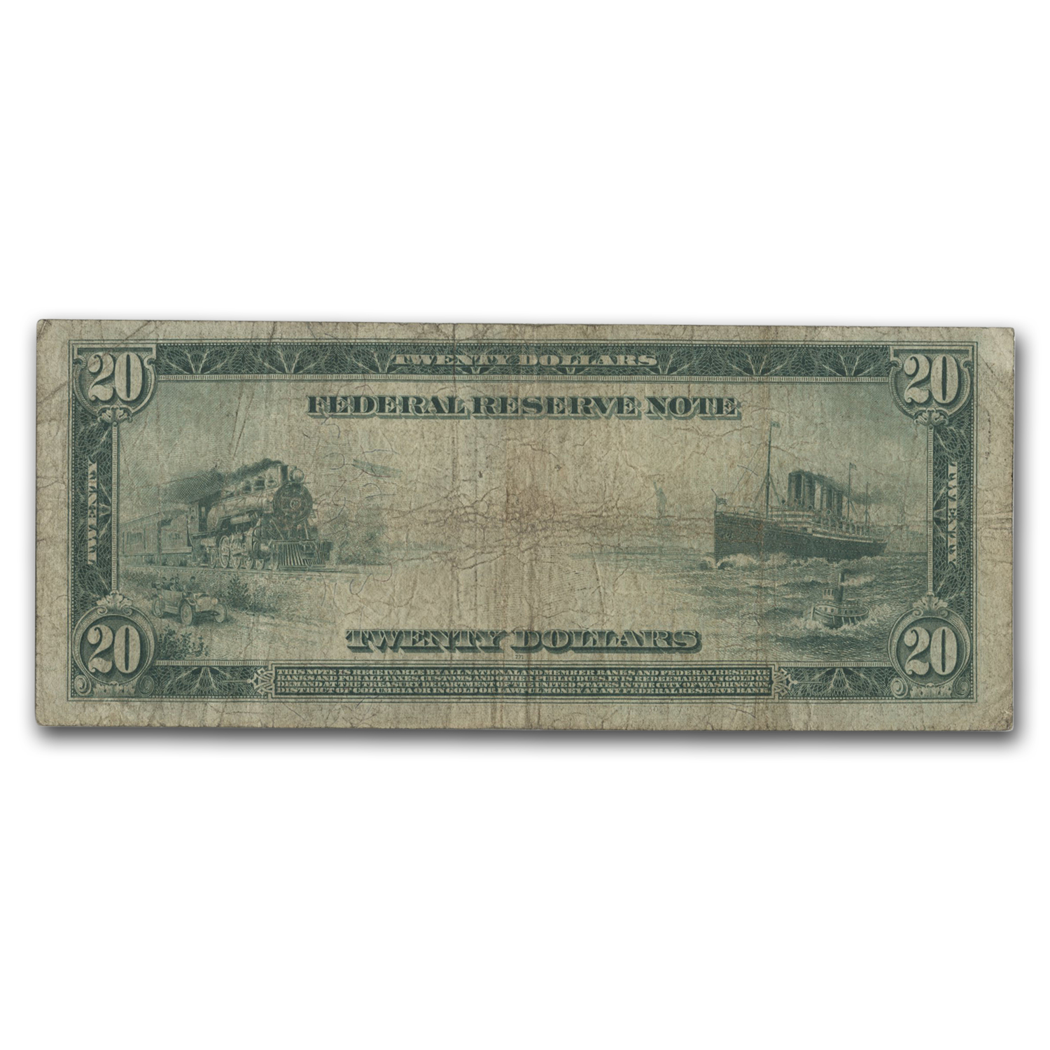 1914 (G-Chicago) $20 FRN VG/F