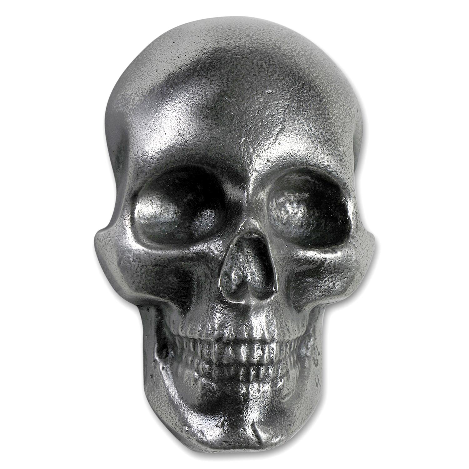10 oz Silver - MK Barz & Bullion (Limited Edition, 3D Skull)