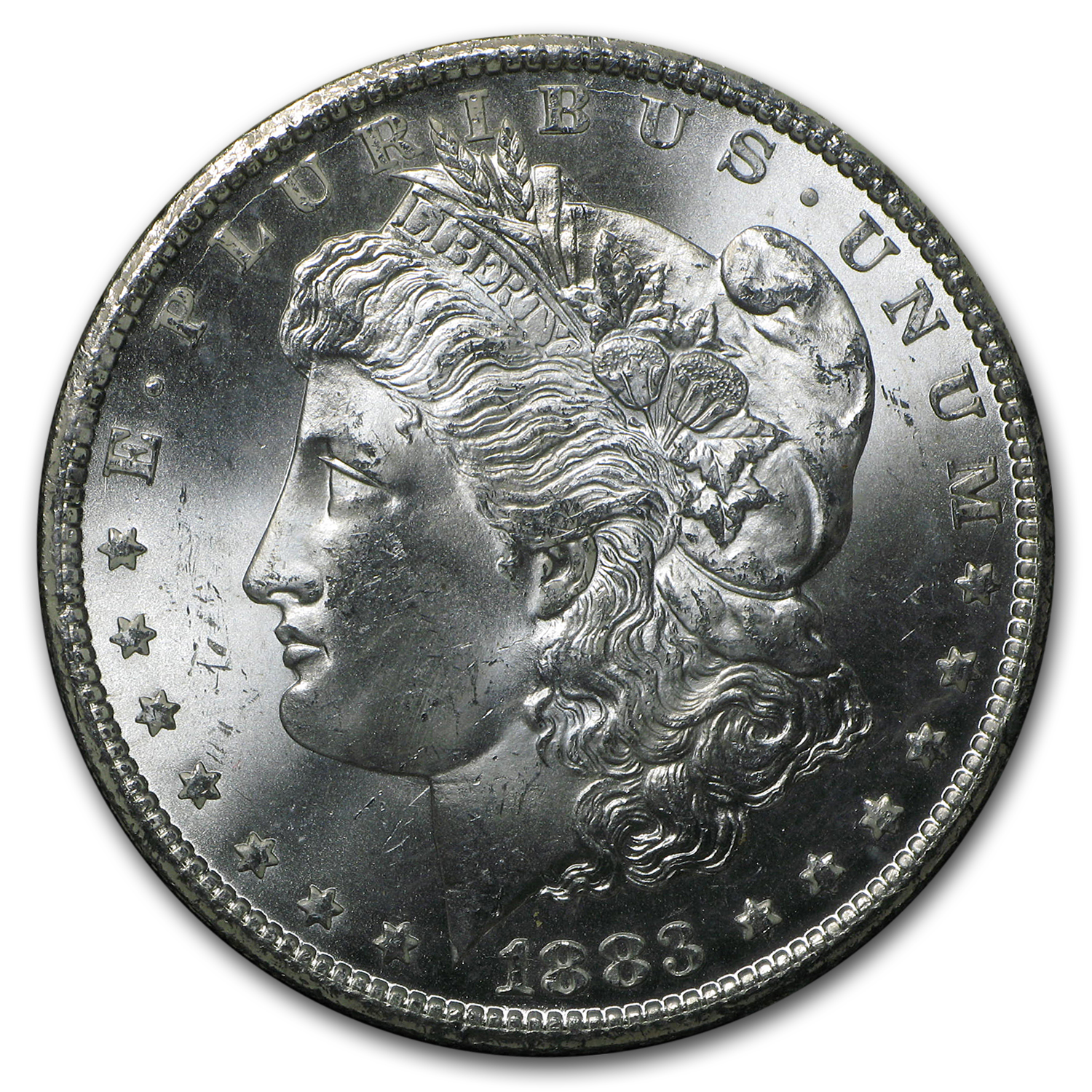 1883-CC Morgan Dollar MS-64+ Plus NGC (GSA)