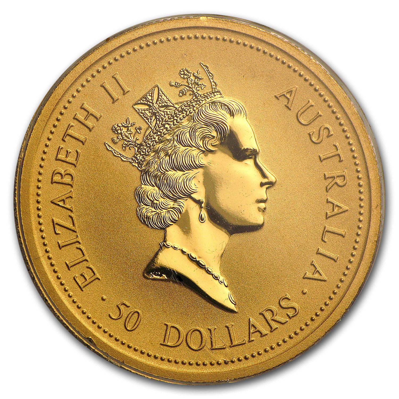 1997 Australia 3 Coin 1 2 Oz Gold Kangaroo Bu Set W Box