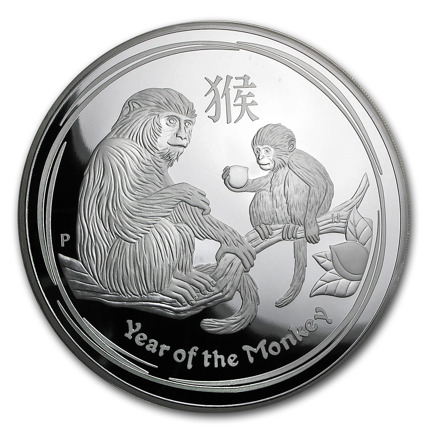 2016 Australia 1 kilo Silver Lunar Monkey Proof (Capsule Only)