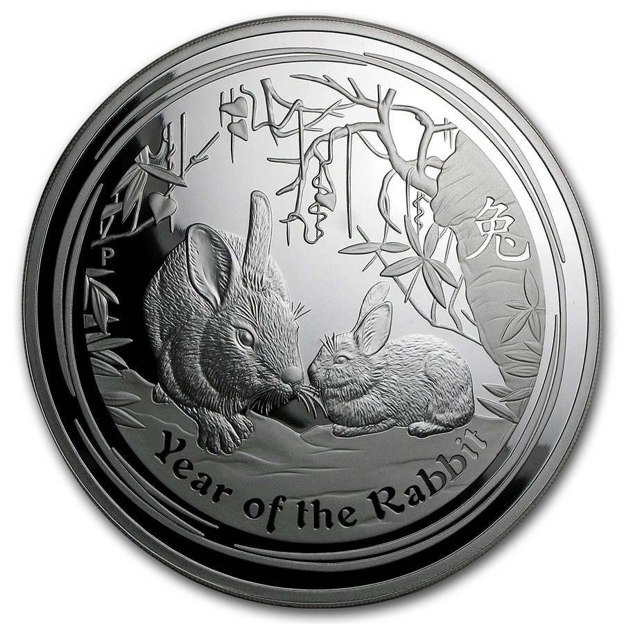 2011 australia 1 kilo silver year of the rabbit proof dmg box perth mint silver 2011 rabbit. Black Bedroom Furniture Sets. Home Design Ideas