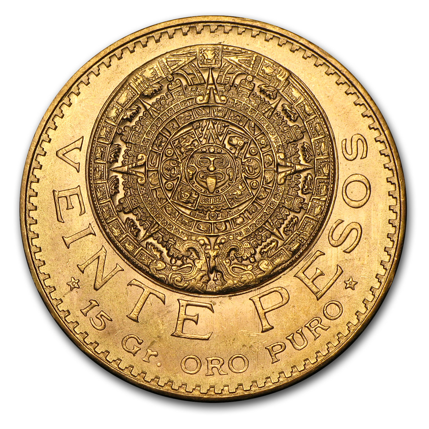 Mexican Gold 20 Pesos (Random Year) AGW .4823