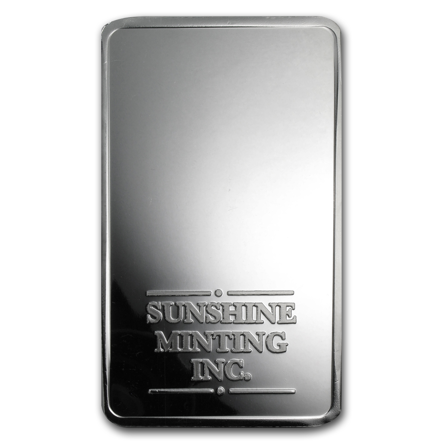 50 oz Silver Bars - Sunshine (Struck)