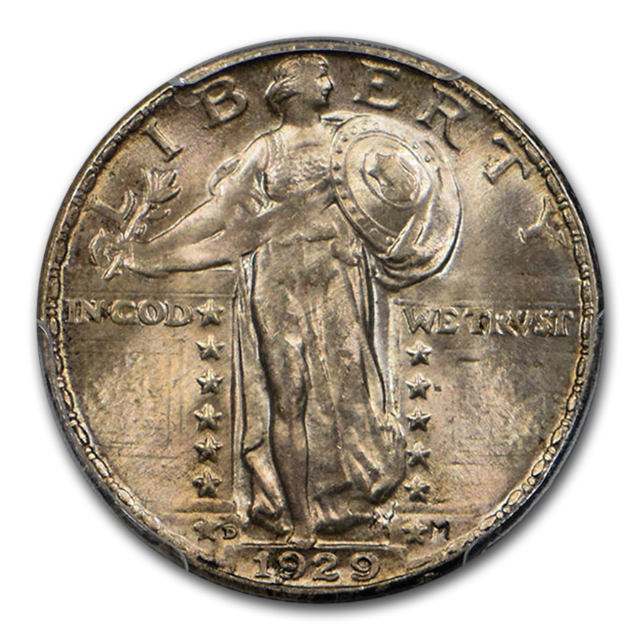 1929-D Standing Liberty Quarter MS-66 PCGS