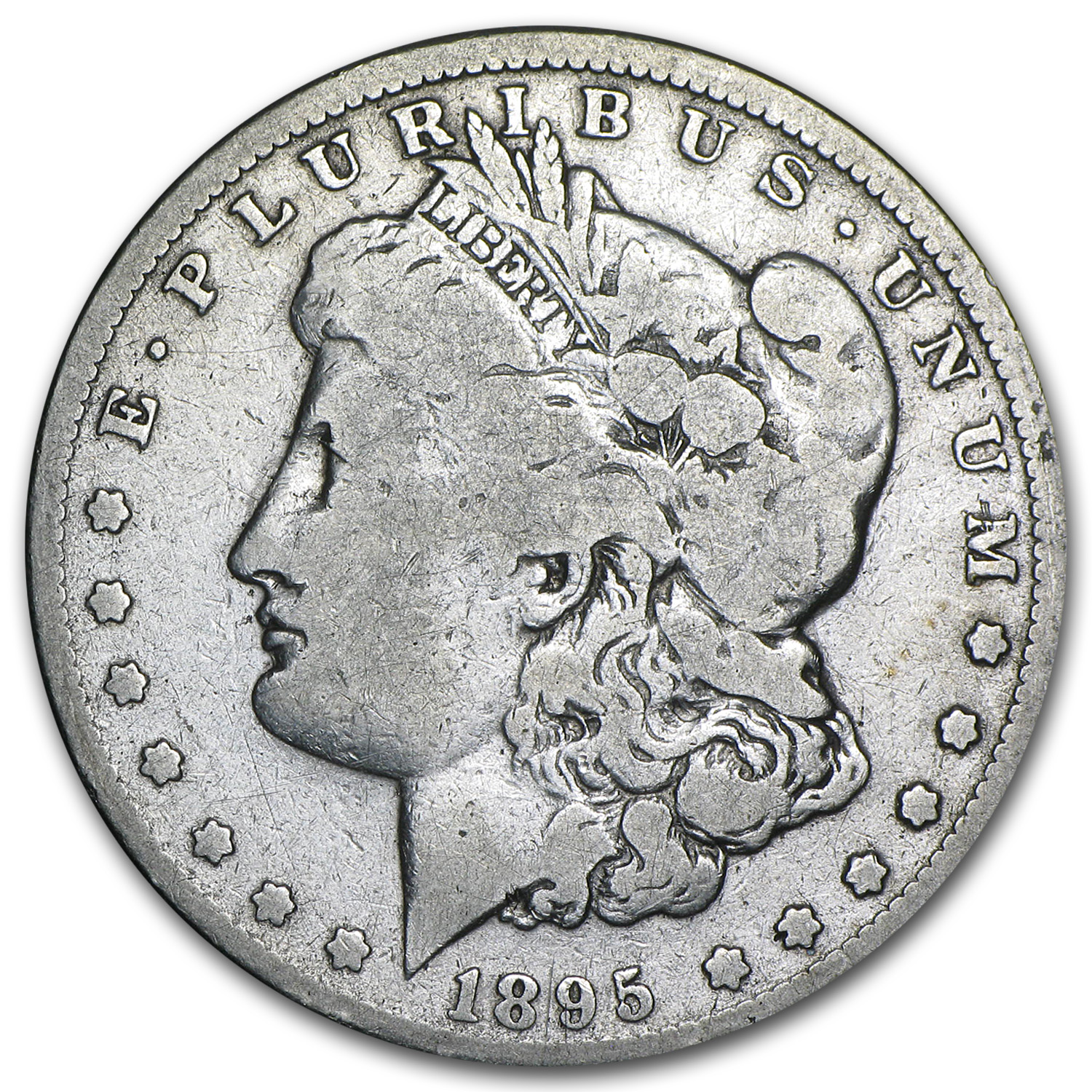 1895-O Morgan Dollar - Very Good