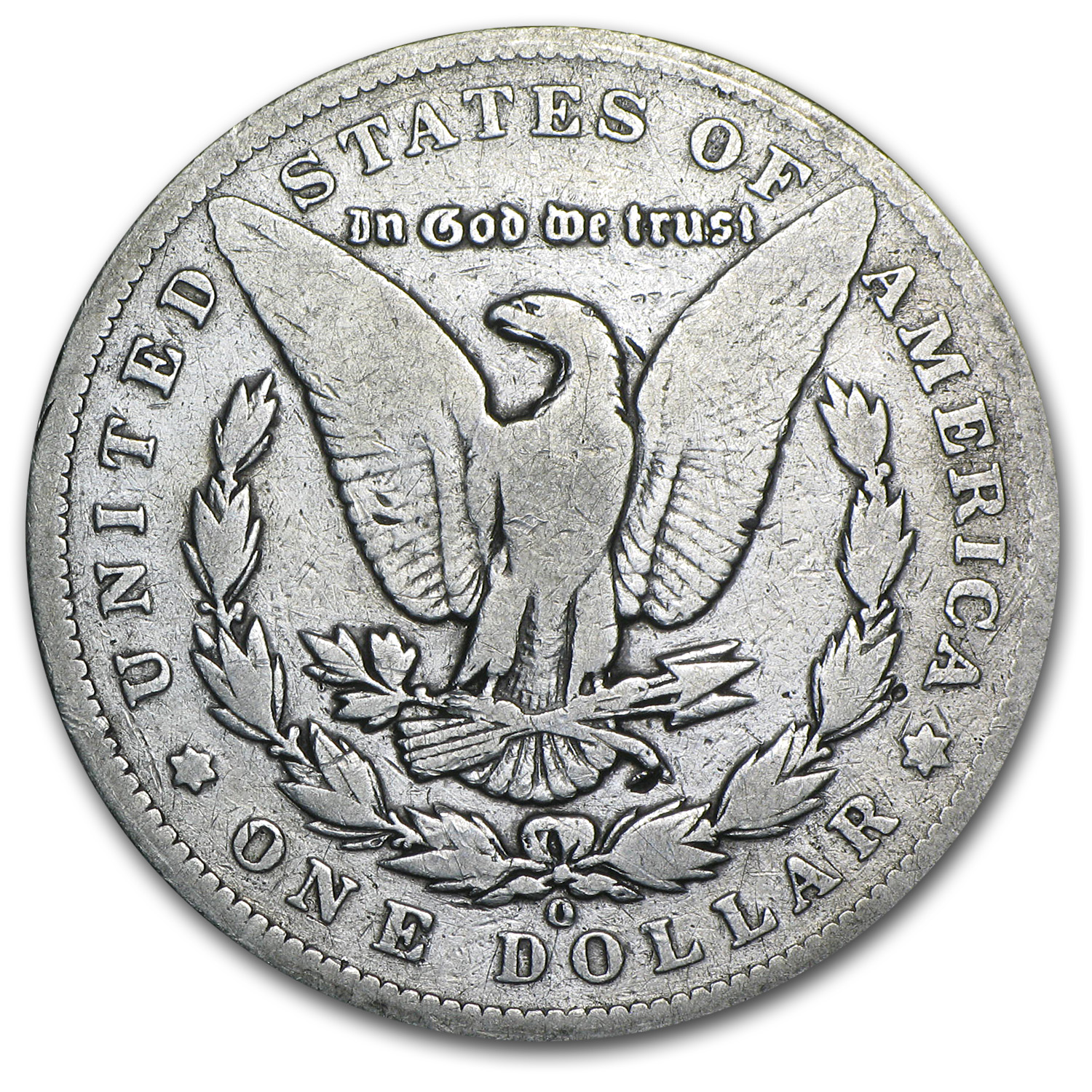 1895-O Morgan Dollar VG
