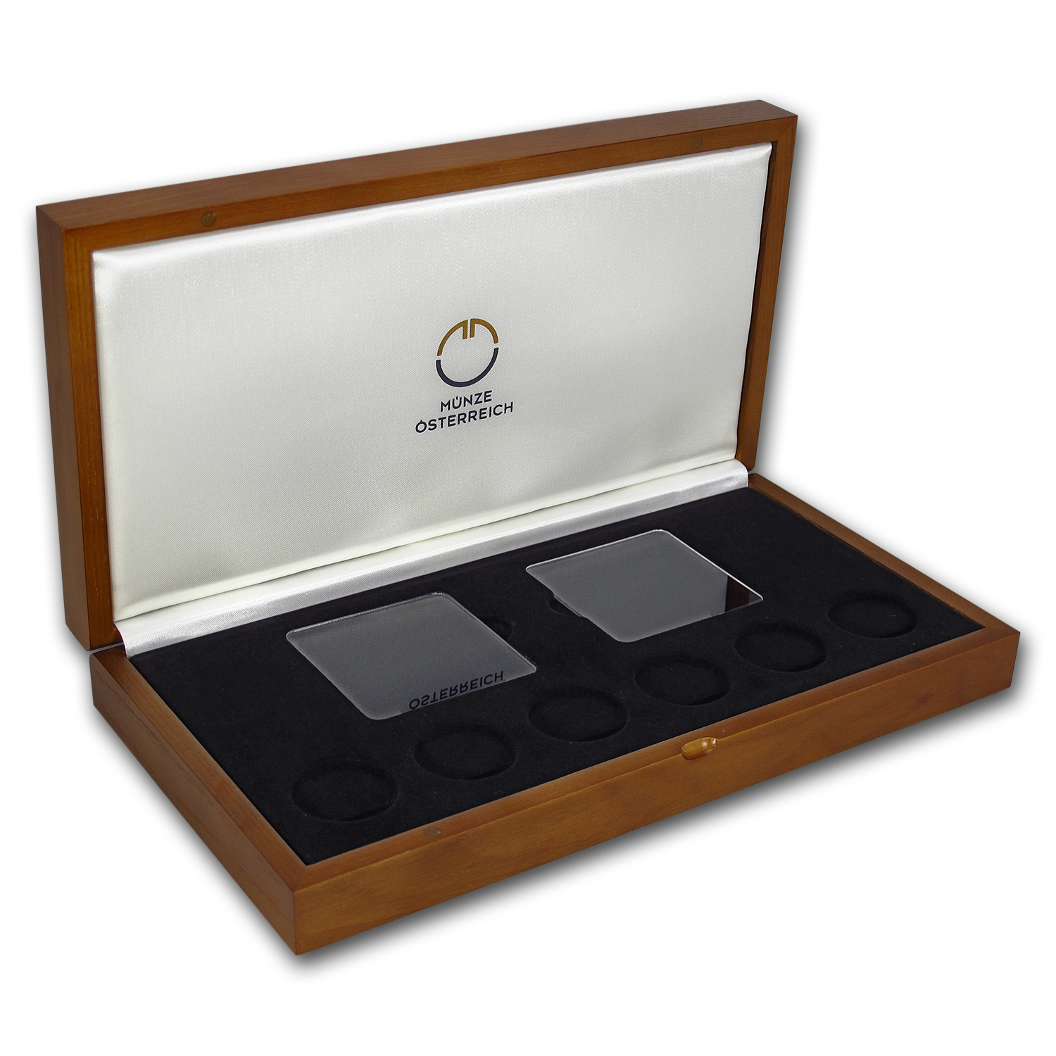OGP Box - 2013-2018 Austria 6-Coin Gold Wildlife Case