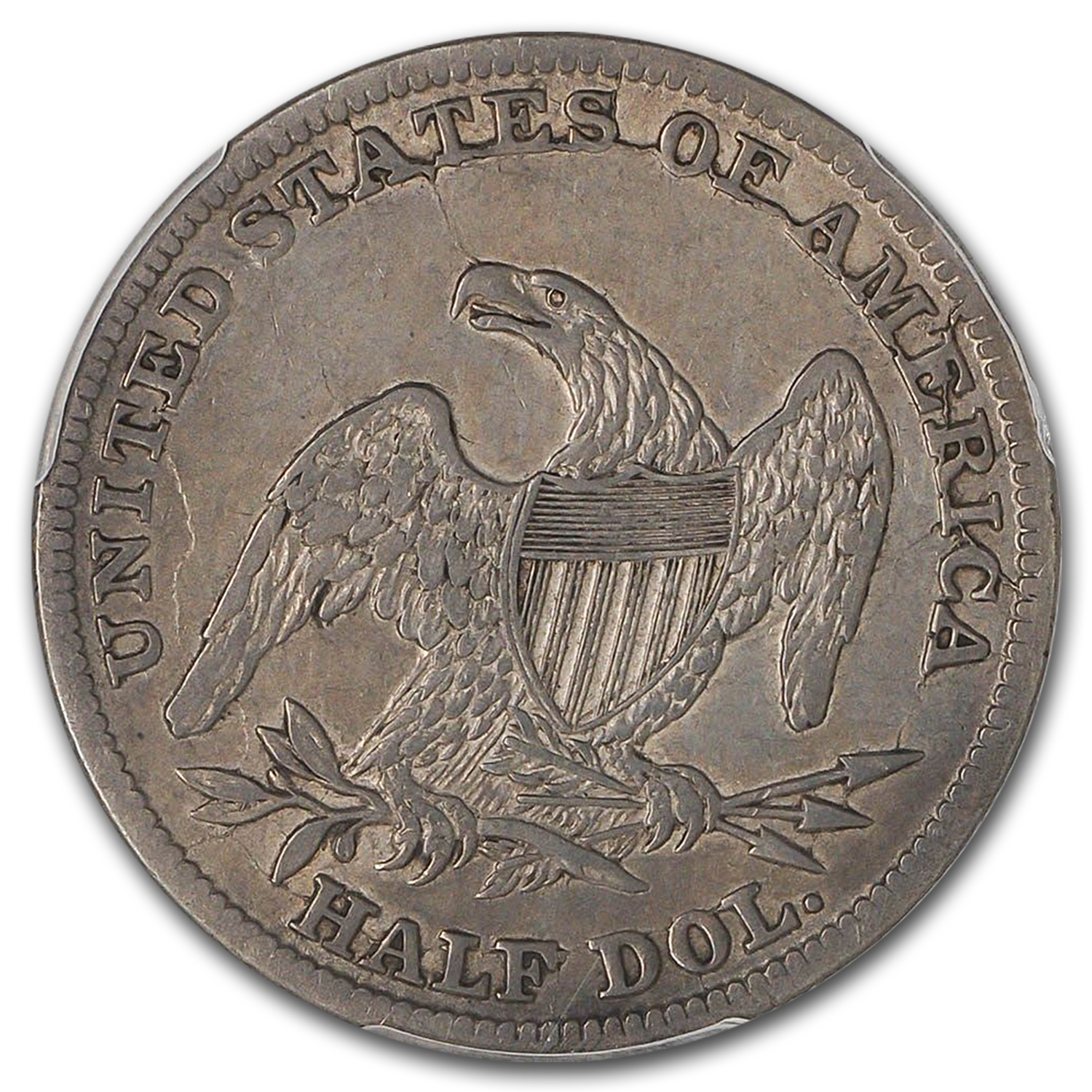 1839-O Reeded Edge Half-Dollar XF-45 PCGS