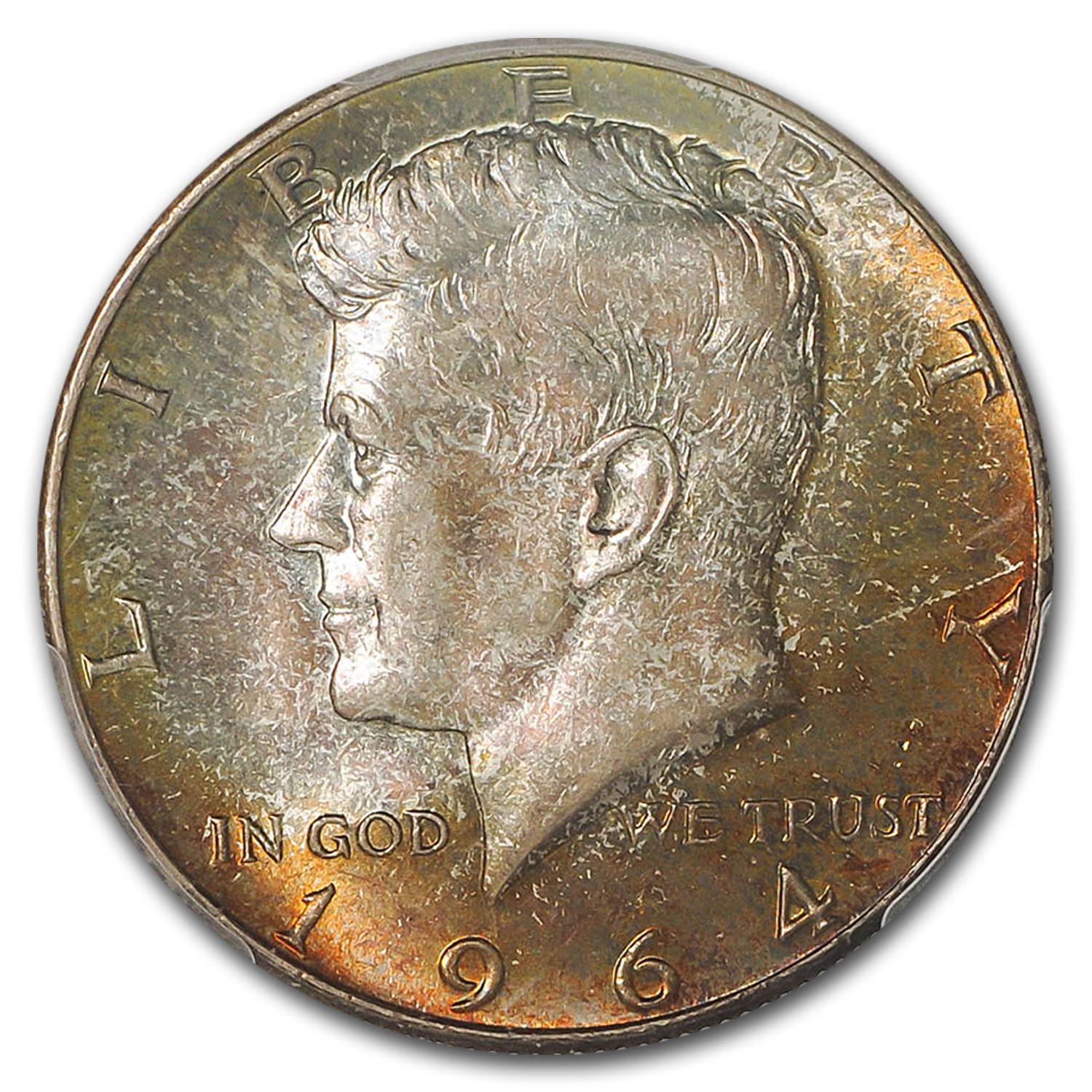 1964 Kennedy Half-Dollar MS-67 PCGS