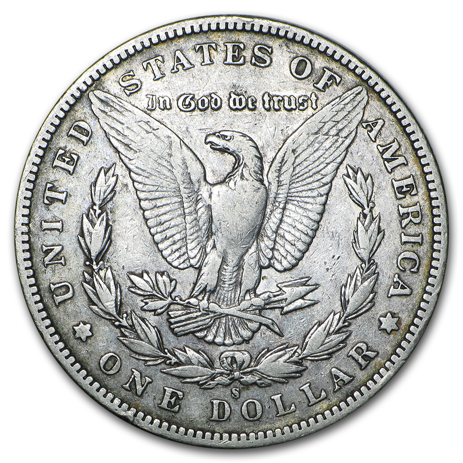 1895-S Morgan Dollar VF
