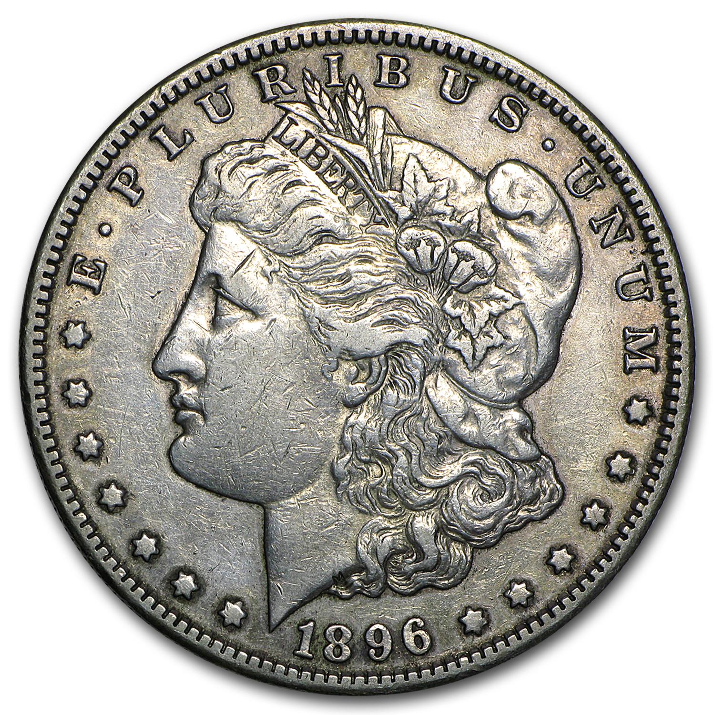 1896 S Morgan Dollar Xf Value Of Silver