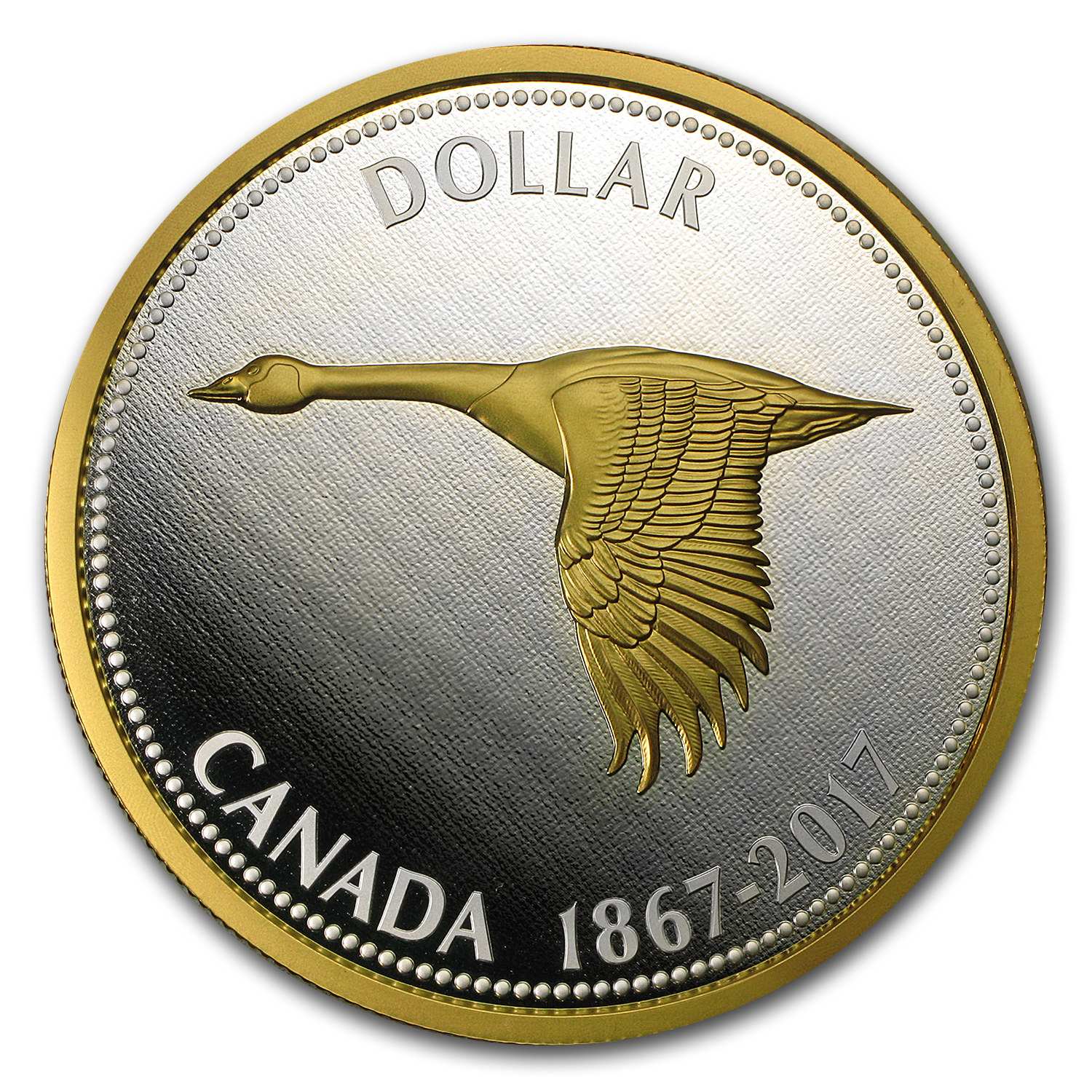 2017 Canada 5 oz Silver $1 Big Coin Series (Alex Colville Dollar)