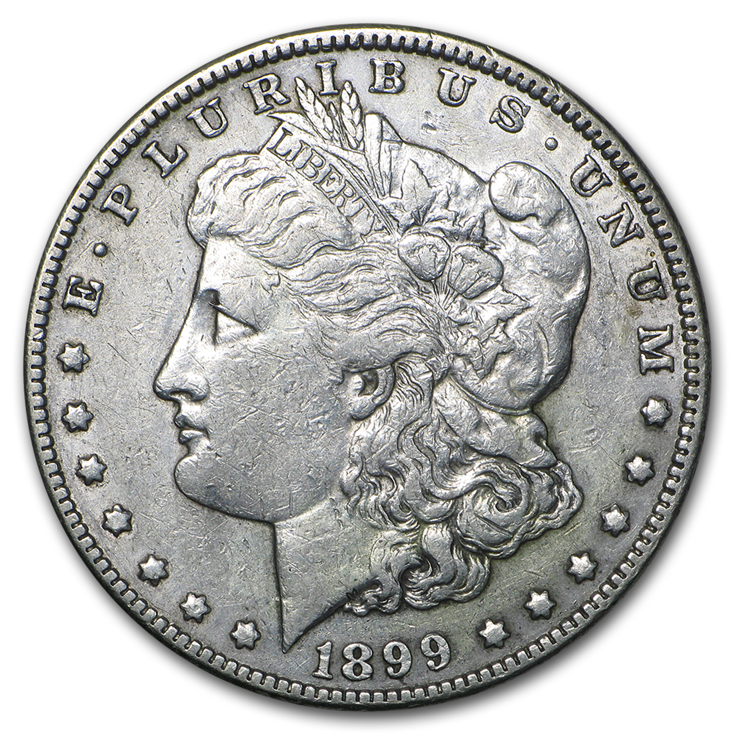 1899 Morgan Dollar VF